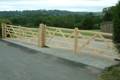 softwood-five-bar-gate-made-on-a-slope