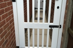 Staining Painting Ped gates