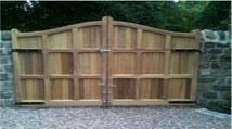 wooden-gates