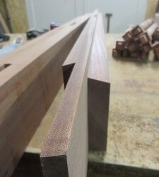Sapele-spindle-gates-west-london-security-tenon
