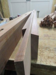 Sapele spindle gates west london security tenon