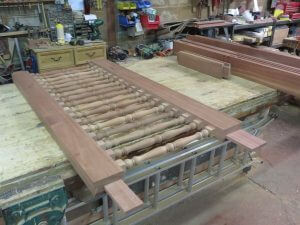 Sapele spindle gates west london security5