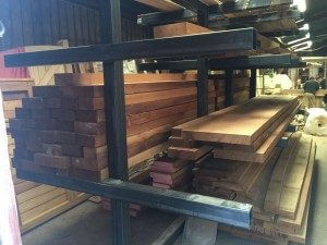 Wood and timber racking